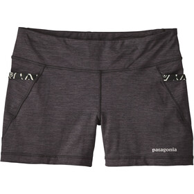 Patagonia Diversifly Speed Pantalones cortos Mujer, black